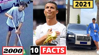 Cristiano Ronaldo 10 SHOCKING UNKNOWN Facts   You Didn't Know