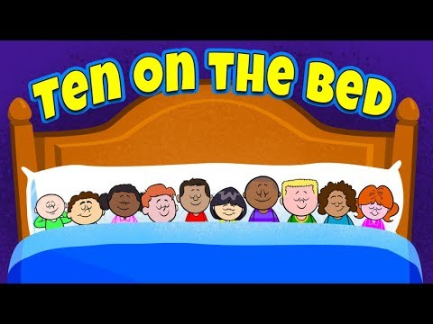 Ten in The Bed Baby First |Nursery Rhyme |Kids Media Fire