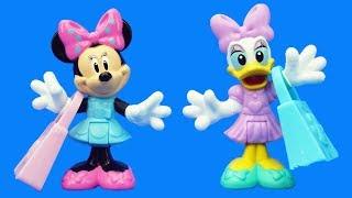 米妮和黛西逛大商場小故事,米奇妙妙屋兒童過家家玩具