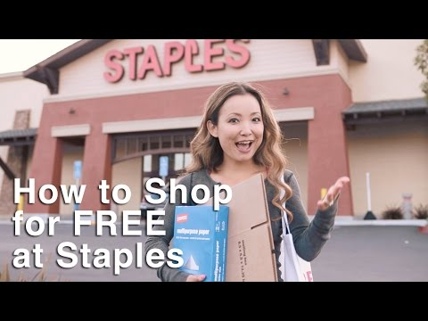 ★ How To Shop For Free At Staples