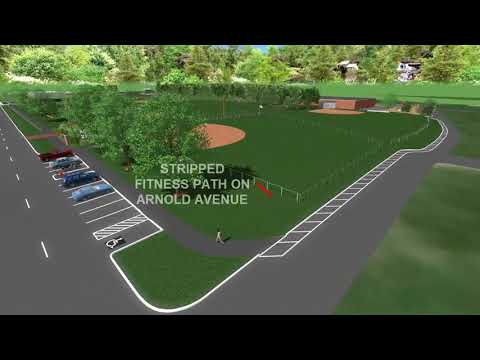Jamestown RI Lawn Ave Rec  Complex 3D Video with W&S Credit