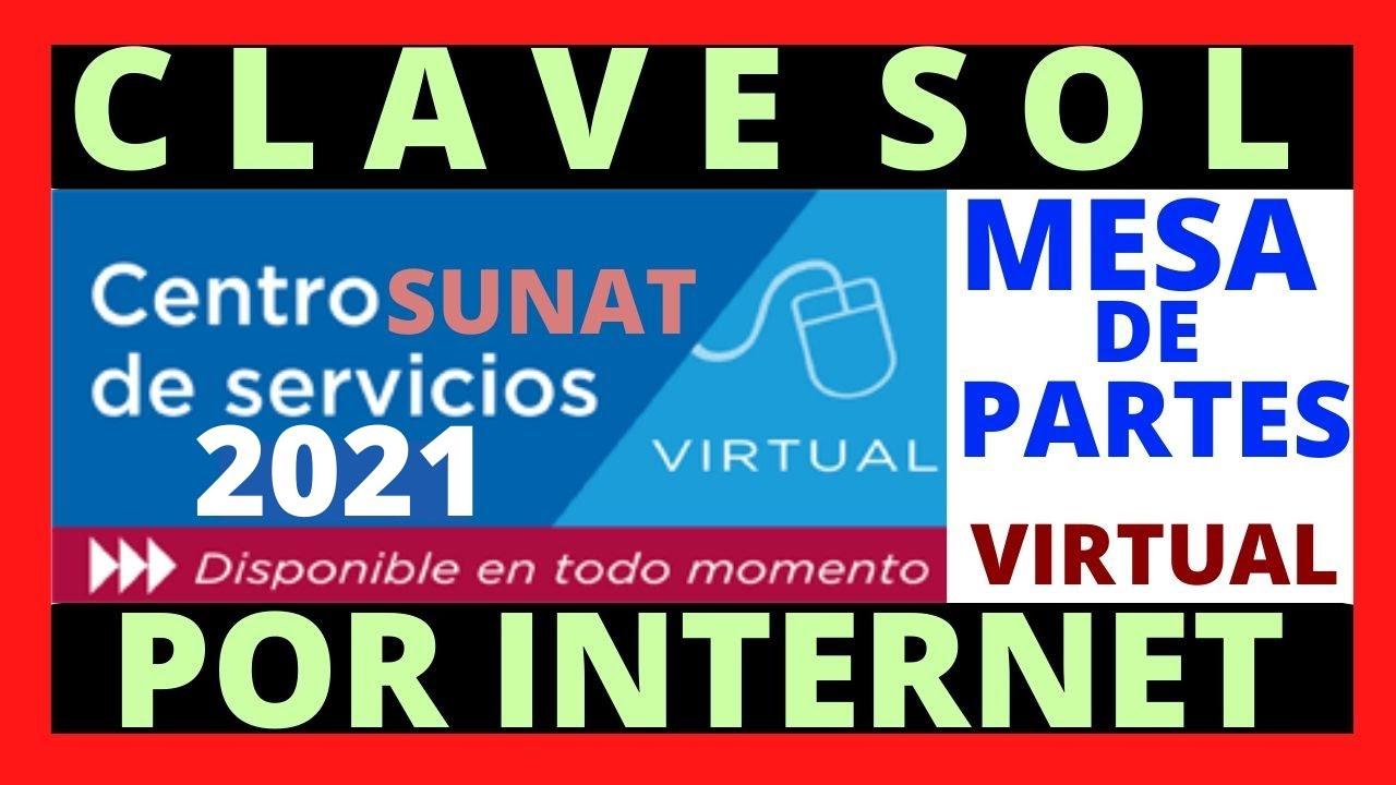 💥 COMO SOLICITAR MI CLAVE SOL POR INTERNET 💻 ⭐️ MESA DE PARTES VIRTUAL ⭐️[ SUNAT 2020 ] // TUTORIAL