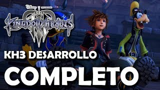 ¡Kingdom Hearts 3 ha completado su Desarrollo!