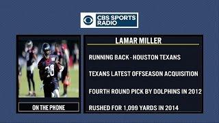 Lamar Miller joins Tiki & Tierney
