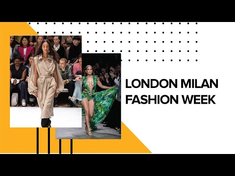 Best Looks From London Milan Fashion Week 2019 Covet Edition
