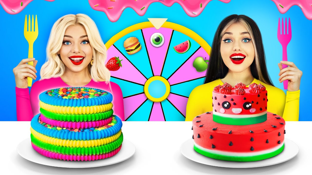 Download Rich VS Broke Food Decorating Challenge   Food Battle & Rich VS Poor Cake Decorating Ideas by RATATA