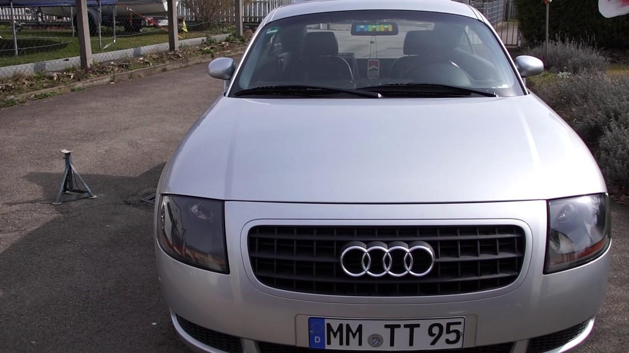 Audi Tt 8n Kühlergrill Vlog Youtube
