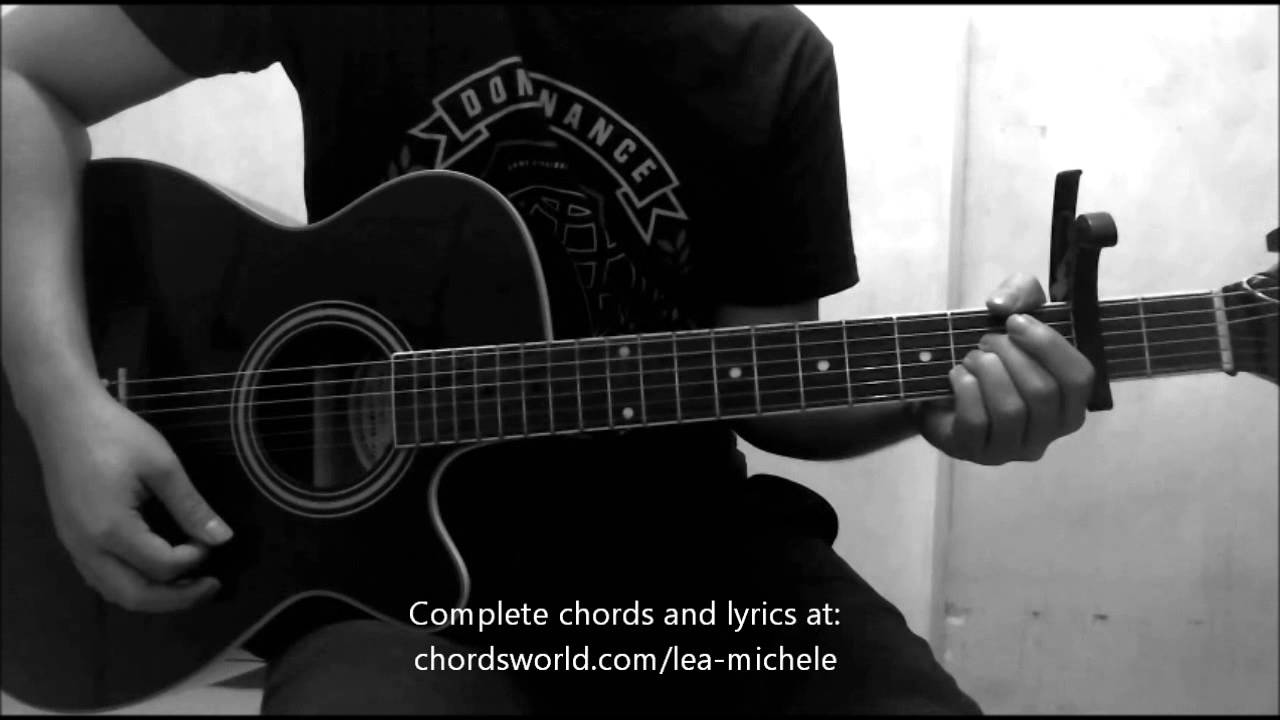 To Find You Chords By Lea Michele How To Play Chordsworld