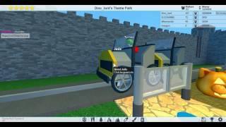 Roblox Theme Park Tycoon 2 #18 พาดูสวนสนุก ในรอบสิ้นปี