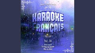 Quand Un Bateau Passe (Rendu célèbre par Claude François) (Karaoké Playback Instrumental)