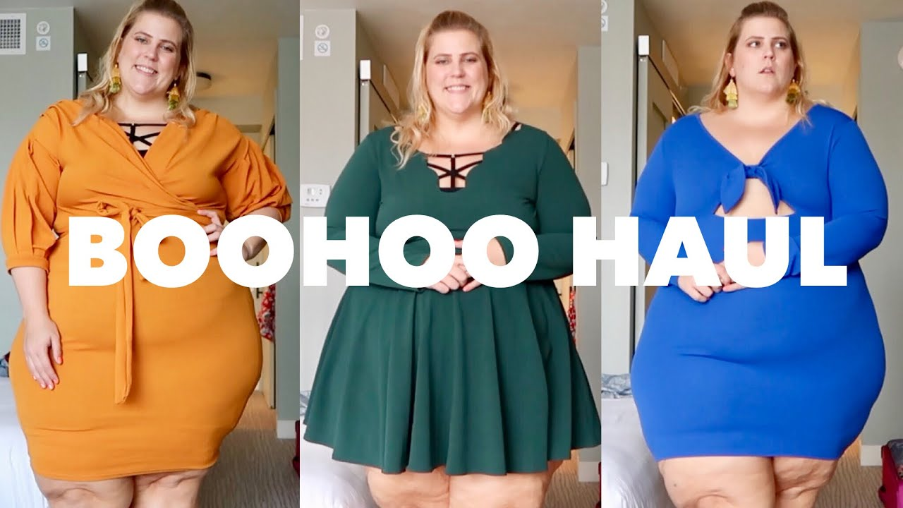 83ed190d4ff Boohoo Plus Size Haul-iday Haul - YouTube