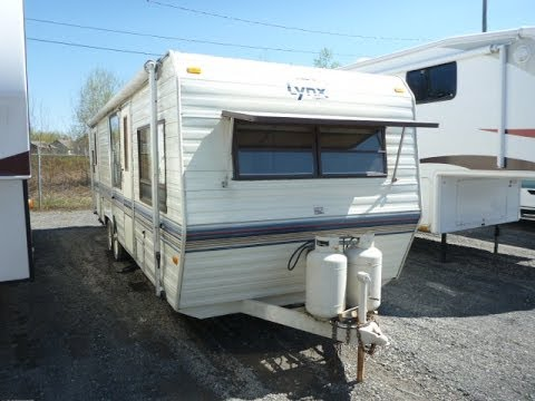 achat vente caravane de voyage prowler lynx 28 r l 1985 stock bh 518 vue de l 39 ext rieur. Black Bedroom Furniture Sets. Home Design Ideas