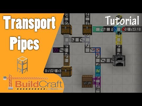 Buildcraft Transport Pipes Tutorial [1.11+]