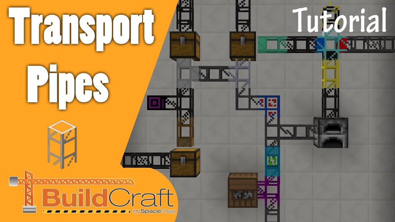 Buildcraft Transport Pipes Tutorial [1 11+]