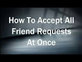 Accept All Reqst By One Click On Android Mobile mp3