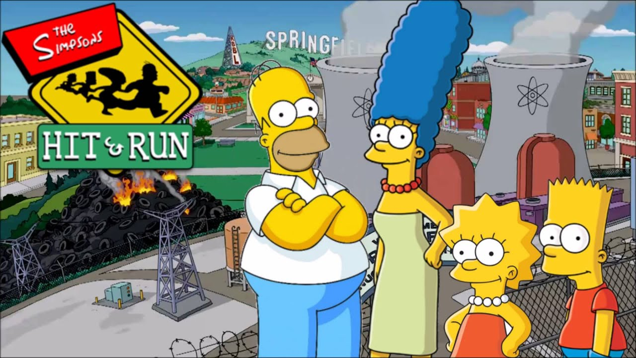 Image result for simpsons hit and run wallpaper