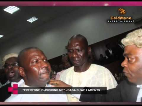 ''EVERYBODY IS AVOIDING ME''    ACTOR BABA SUWE LAMENTS