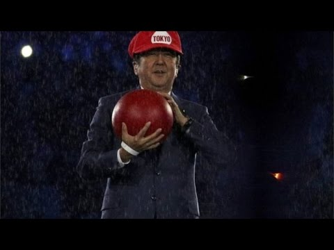 Tokyo 2020 Clues When Japan's PM Dressed Up As Super Mario