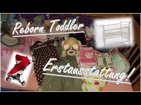 Erstausstattung!/ Basic Equipment for Reborn Toddler! ||Reborn Baby Deutsch || Little Reborn Nursery