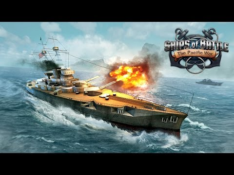 Ships of Battle The Pacific (by VascoGames) Android Gameplay [HD]