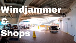 Majesty Of The Seas (Royal Caribbean) - Windjammer & Shops