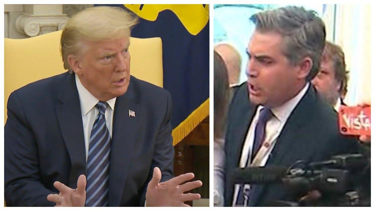 CNN TORMENTED GENERAL FLYNN: Trump BLASTS JIM ACOSTA Demands CNN Cover the Flynn Exoneration Fairly