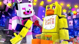 Funtime Freddy Repairs Chica's Party World! Minecraft FNAF Roleplay