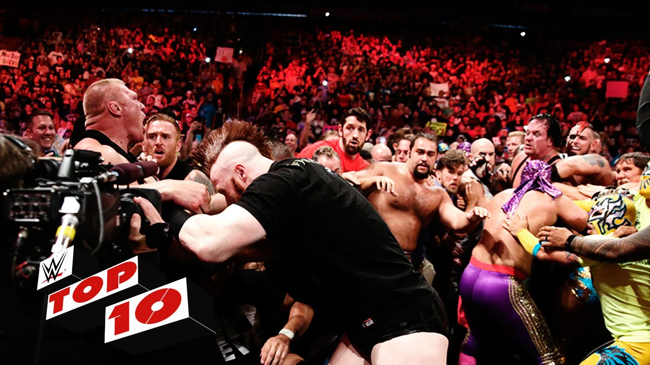 Top 10 Raw moments: WWE Top 10, July 20, 2015 #1