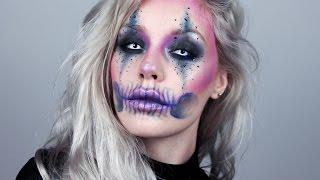 Colorful Jester Skull - HALLOWEEN SERIES