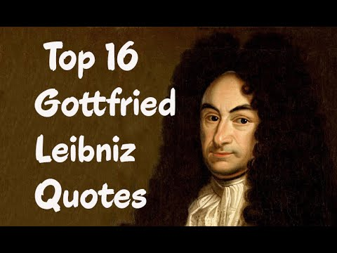 gottfried leibniz essays on theodicy Gottfried wilhelm leibniz (1646-1716) widely hailed as a universal genius, gottfried wilhelm leibniz was one of the most important thinkers of the late 17 th and.