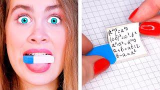 ПОЛЕЗНЫЕ ШКОЛЬНЫЕ ЛАЙФХАКИ | Как Списать на Уроке? Ideas 4 Fun