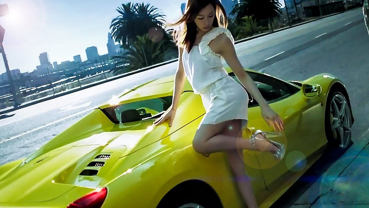 2014 Ferrari 458 Spider >> カネボウ ALLIE TVCM|2014 北川景子「私は、アリィー」 - YouTube