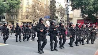 Desfile Militar independencia Argentina 9 Julio 2019 4k 23 de 45 Completo