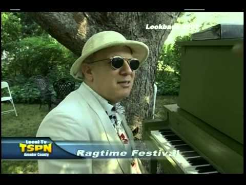 Sutter Creek Ragtime Festival 2007 on TSPN TV