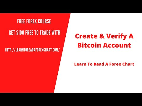 Create & Verify A Bitcoin Account