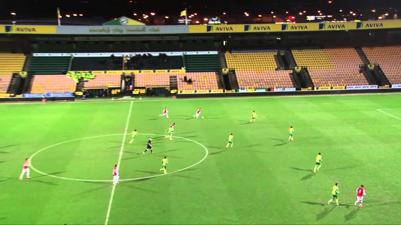 Highlights Norwich City U21s 2 2 Arsenal Youtube