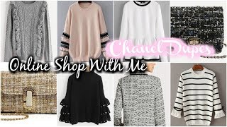Download Video SHOP WITH ME | ONLINE @ SHEIN.COM | CHANEL DUPES MP3 3GP MP4