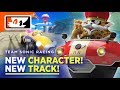 #TeamSonicRacing - New Track! New Character! Number of Tracks Confirmed! (#SonicNews)