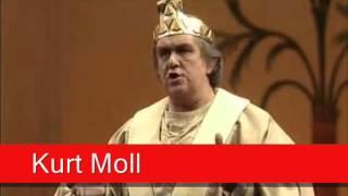 Kurt Moll: Mozart - Die Zauberflöte,