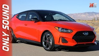 New hyundai veloster turbo 2018 - first test drive only sound
