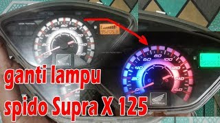 Video Tutorial ganti lampu speedometer Supra X 125 download MP3, 3GP, MP4, WEBM, AVI, FLV Maret 2018
