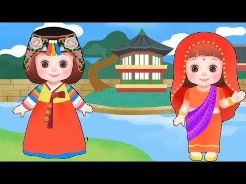 Toy Doll Baby Doli clothes world tour and baby doll house toys play