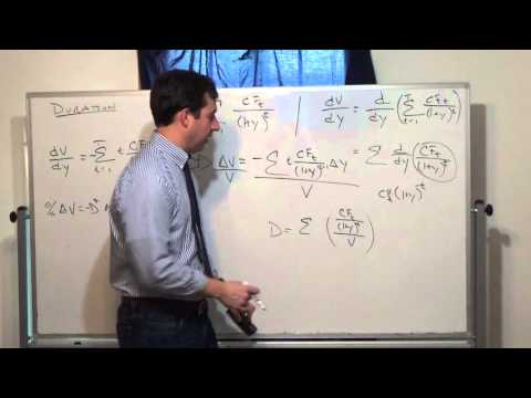 Derivation of a Bond's Duration