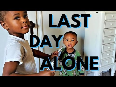Chill Sunday Waiting For Mom To Return | Black Family Vloggers | Black Fatherhood