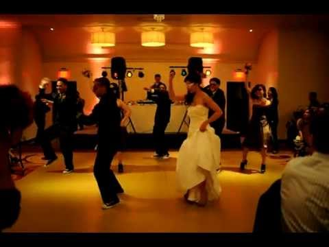 wedding party does jump on it dance youtube. Black Bedroom Furniture Sets. Home Design Ideas