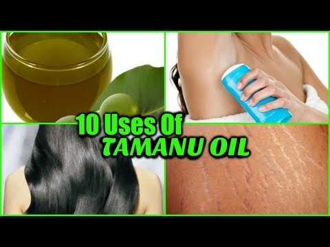 10 BEAUTY USES OF TAMANU OIL! │HEAL ACNE, ERASE WRINKLES, INCREASE HAIR GROWTH, NATURAL DEODORANT!