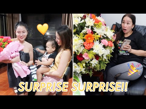MOTHER'S DAY SURPRISE FOR MOM AND DIANARA | Lovely Geniston