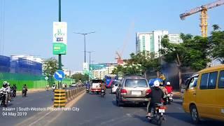 Travel in South-Western Phnom Penh City   Russian Boulevard   Kingdom of Cambodia