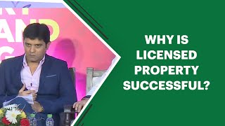 Why is licensed property successful