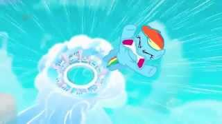 Repeat youtube video Rainbow Dash - You're Gonna Go Far Kid 10 hours